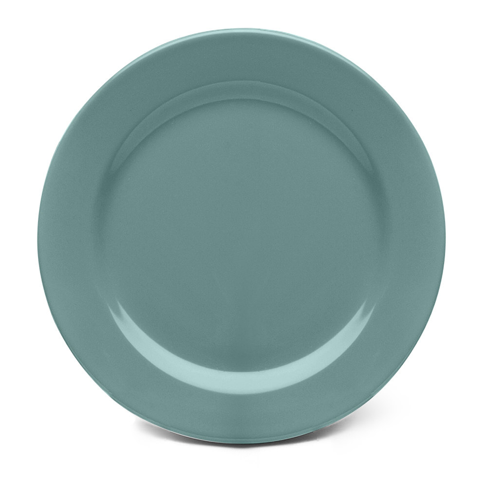 "Elite Global Solutions D775PL Urban Naturals Abyss 7 3/4"" Round Melamine Plate"