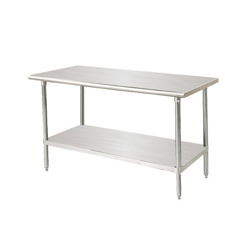 "Advance Tabco MSLAG-302-X Professional Stainless Steel Work Table and Adjustable Undershelf - 30"" x 24"" at Sears.com"
