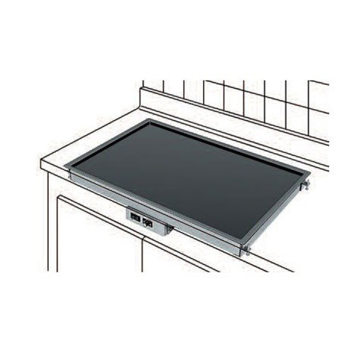 "Hatco GRSB-36-F Glo-Ray 17"" Built-In Heated Shelf with Recessed Top - 120V, 590W"