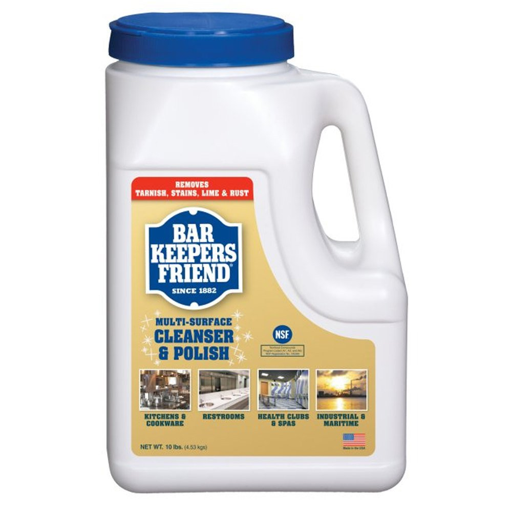 bar keepers friend 11512 10 lb 160 oz all purpose cleaning powder 4 case. Black Bedroom Furniture Sets. Home Design Ideas