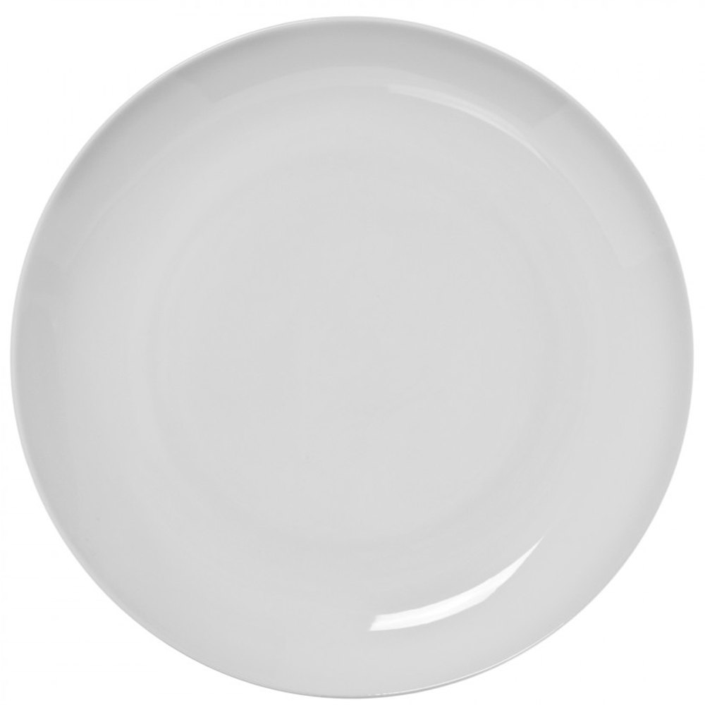 "10 Strawberry Street RCP0040 Royal Coupe 10 3/4"" White Plate - 24/Case"