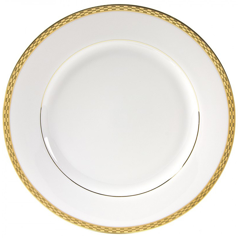 10 Strawberry Street ATH 4G6 Athens SaladDessert Plate Set Of 6 WhiteGold