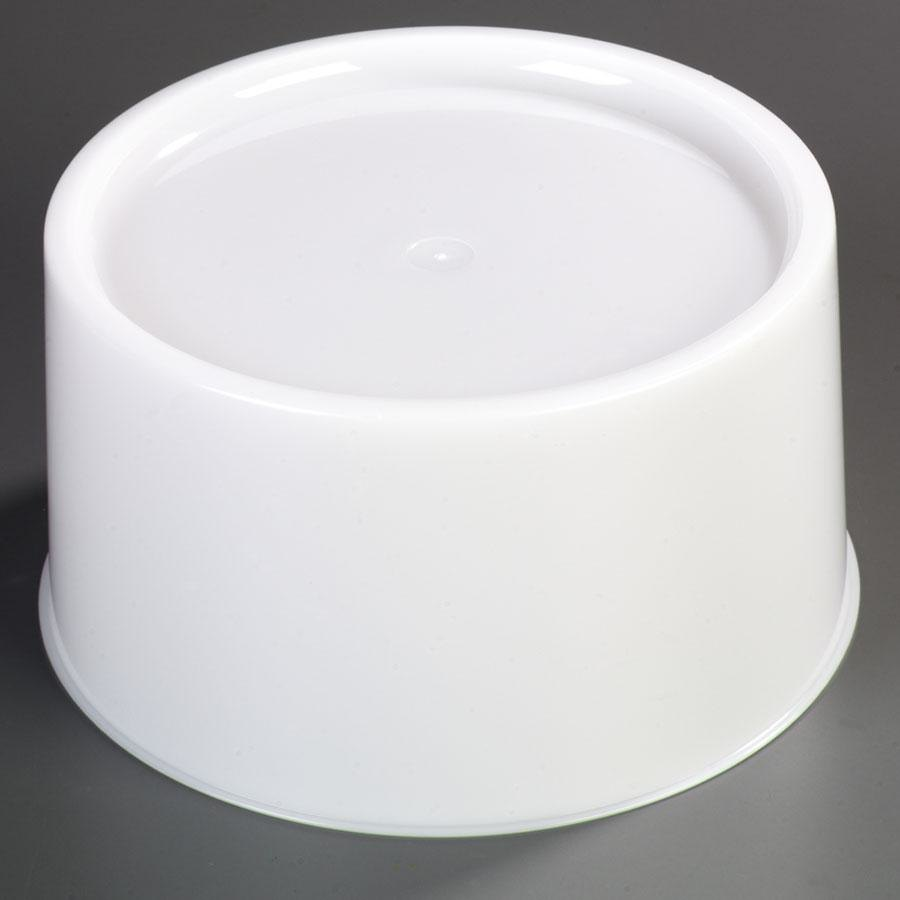 Carlisle 221102 White Round Replacement Base for 3-Gallon and 5-Gallon Beverage Dispensers