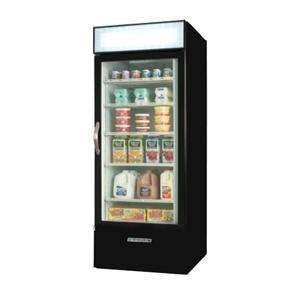 Beverage Air MMR27-1-B Black Marketmax Refrigerated Glass Door Merchandiser - 27 Cu. Ft. at Sears.com