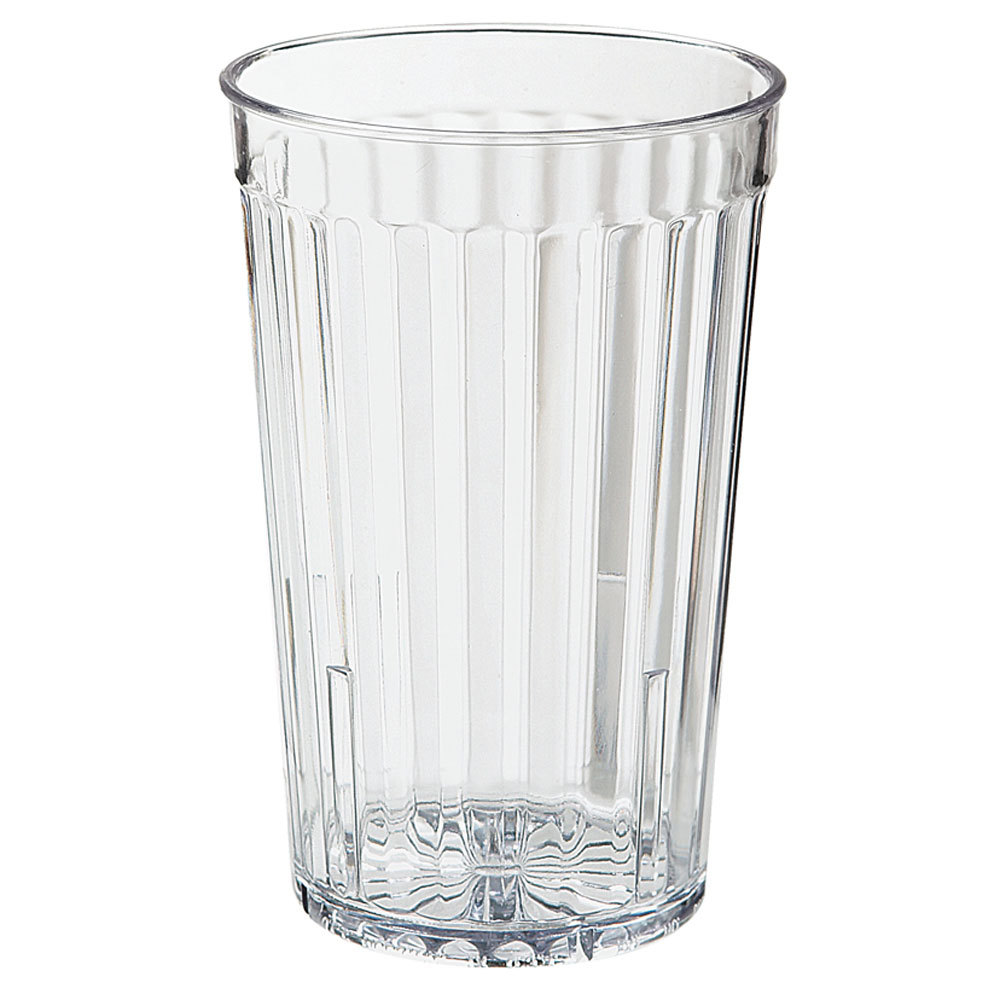 GET 8816-1-CL 16 oz. SAN Clear Plastic Spektrum Tumbler 72 / Case