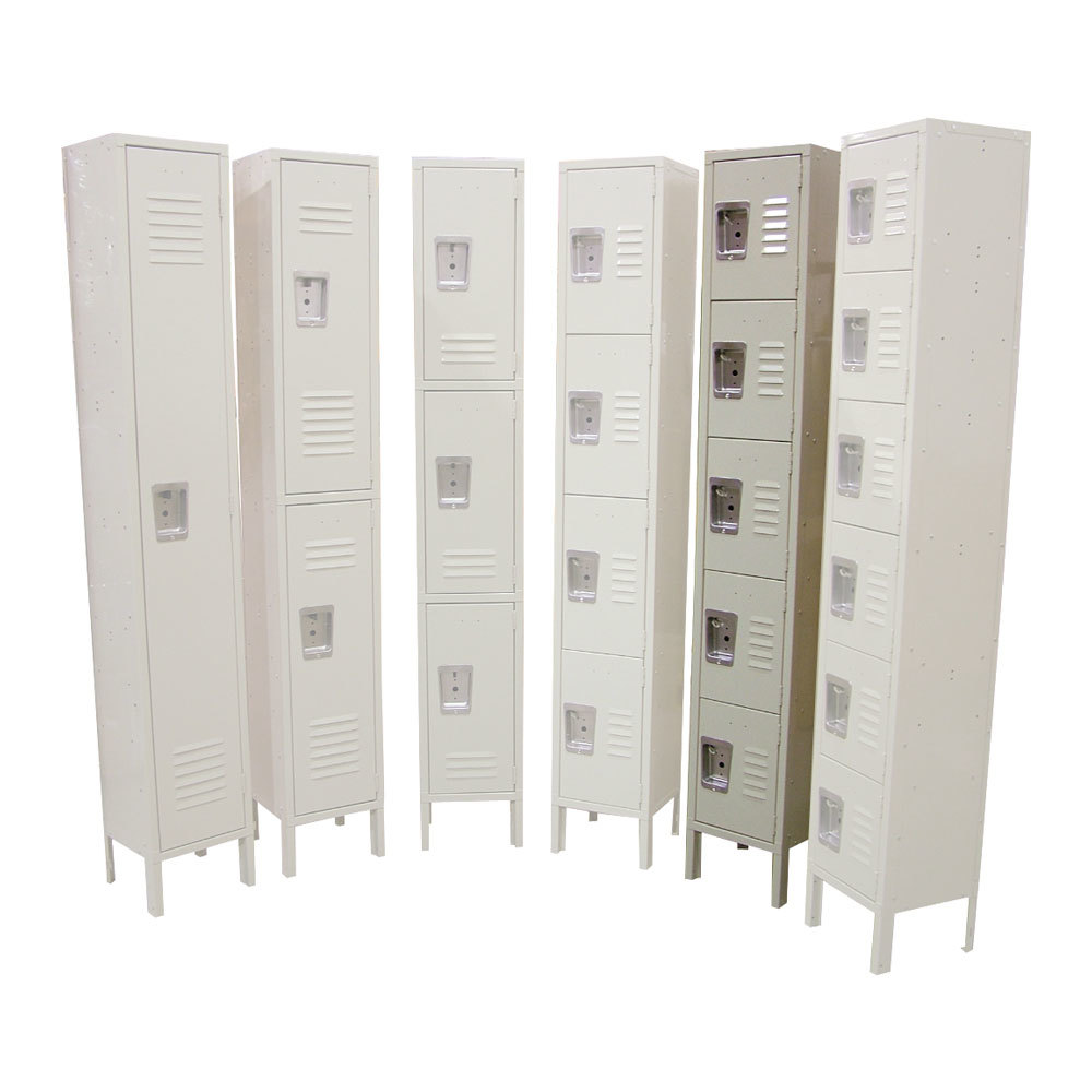 "Single Column 5-Tier Locker 18"" x 12"""