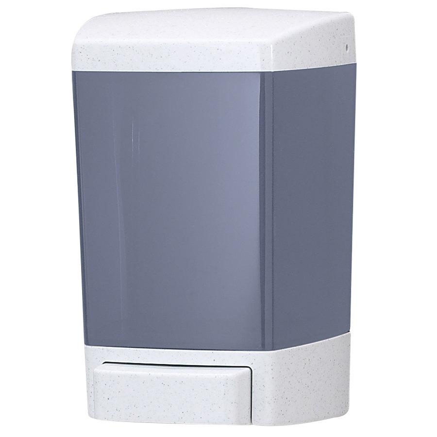 main picture. san jamar stbl  oz bulk soap dispenser  arctic blue