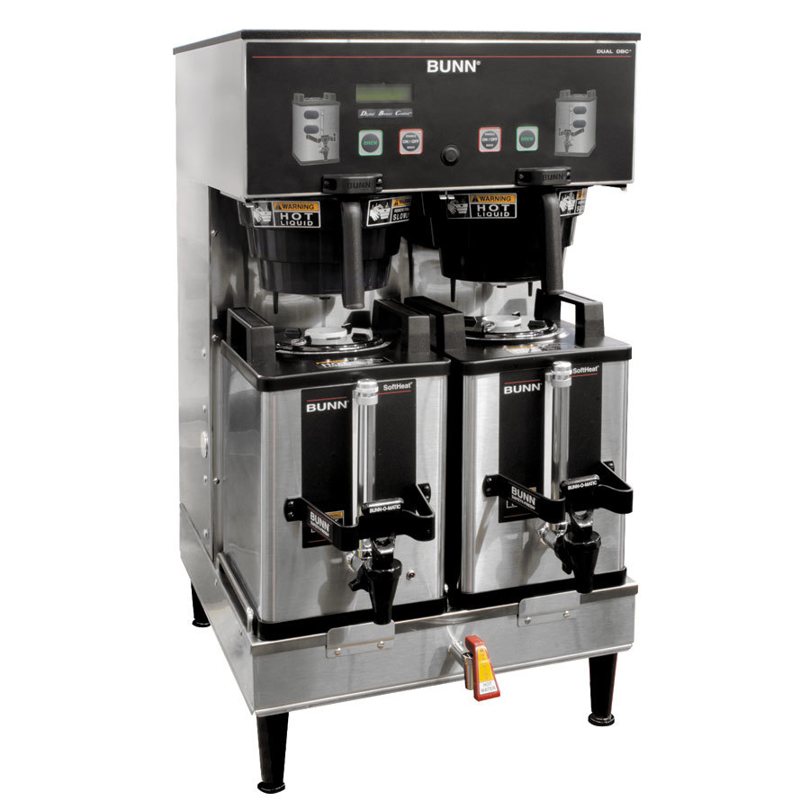 Bunn Coffee Maker Dual Sh Instructions : Bunn 33500.0046 BrewWISE Dual Soft Heat DBC Brewer ? 120/208V-240V at Sears.com