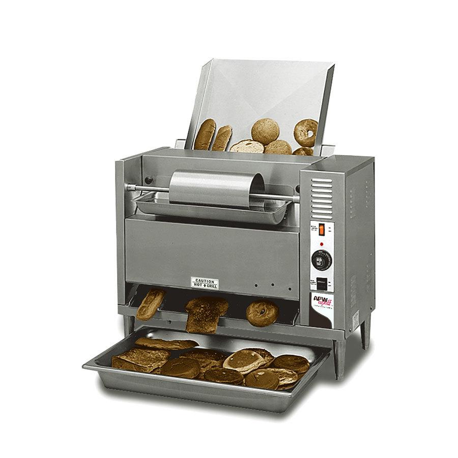 208 Volts Apw Wyott M 83 Vertical Conveyor Bun Grill Toaster