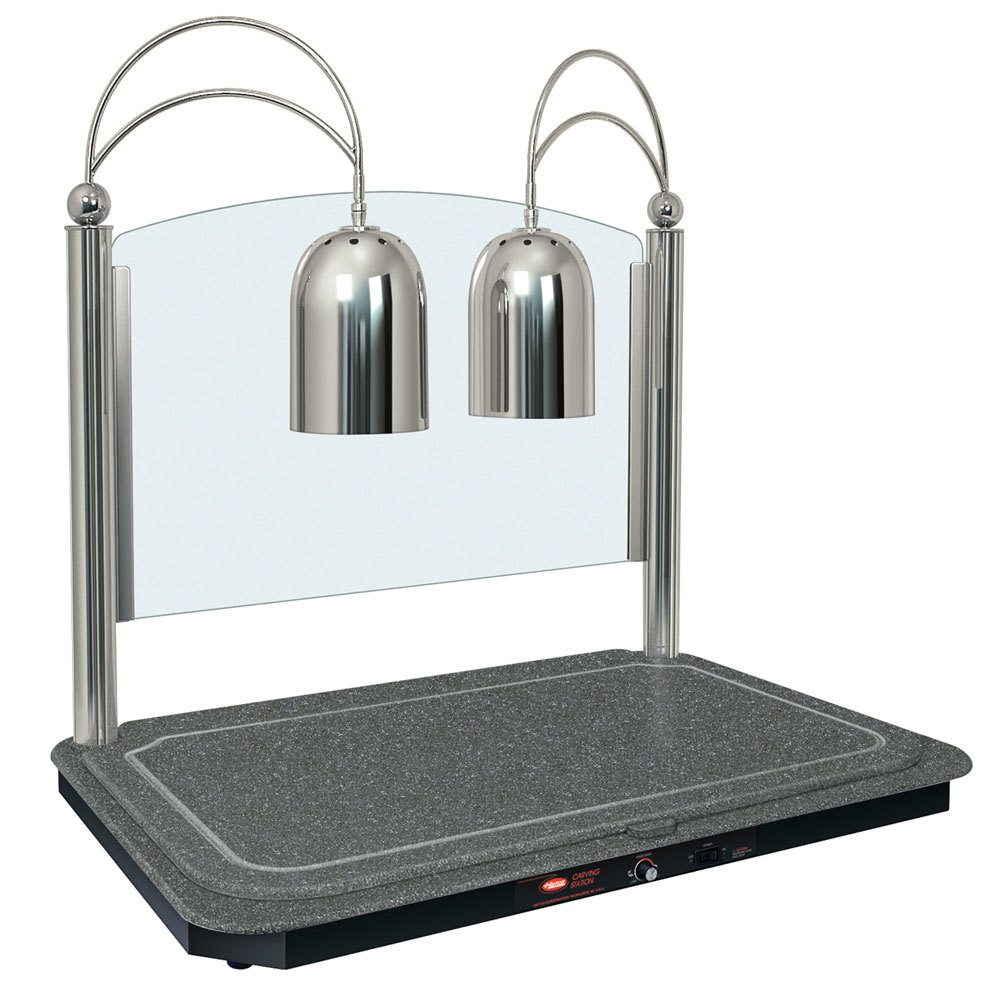 Hatco dcsb  dual lamp decorative carving station