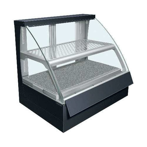 Hatco FSCD-2PD Flav-R-Savor Convected Air Curved Front Display Case