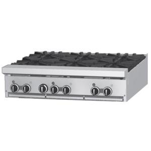 "Garland / US Range Natural Gas Garland GF36-4G12T 4 Burner Modular Top 36"" Gas Range with Flame Failure Protection and 12"" Griddle - 122,000 BTU at Sears.com"