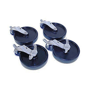 """Beverage Air 00C31-049A Low Profile 2 3/4"""" Replacement Caster Set - 4 / Pack at Sears.com"""