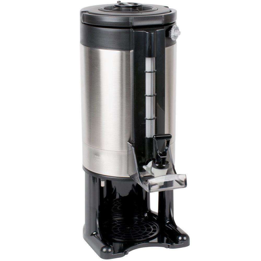 Gravity Drip Coffee Maker : 1.5 Gallon Stainless Steel Gravity Flow Vacuum-Insulated Coffee Server with Removable Base