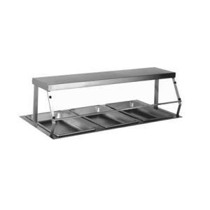 Eagle Group DSSP-HT4 Deluxe Stainless Steel Serving Shelf for Eagle Group HT4 Four Well Hot Food Tables