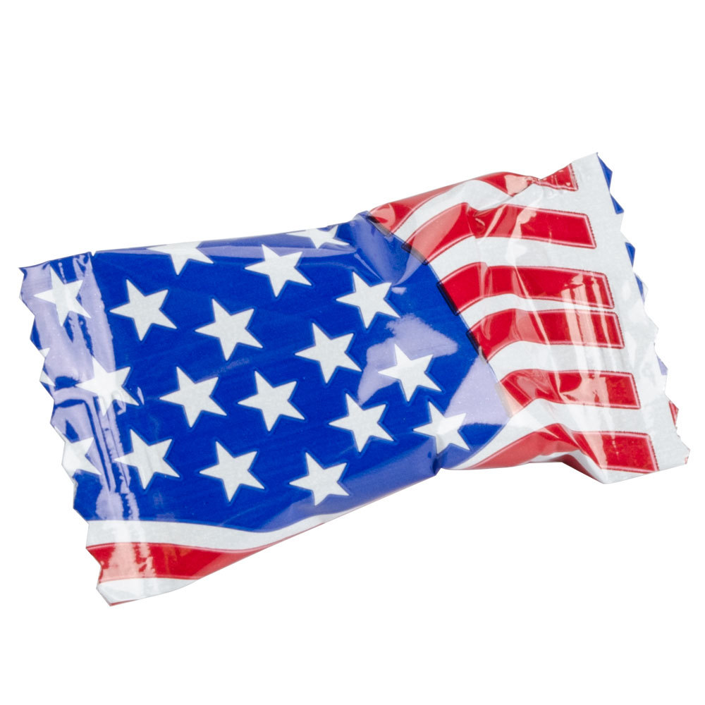"""Flag"""" Buttermints Individually Wrapped 1000 / Case"""