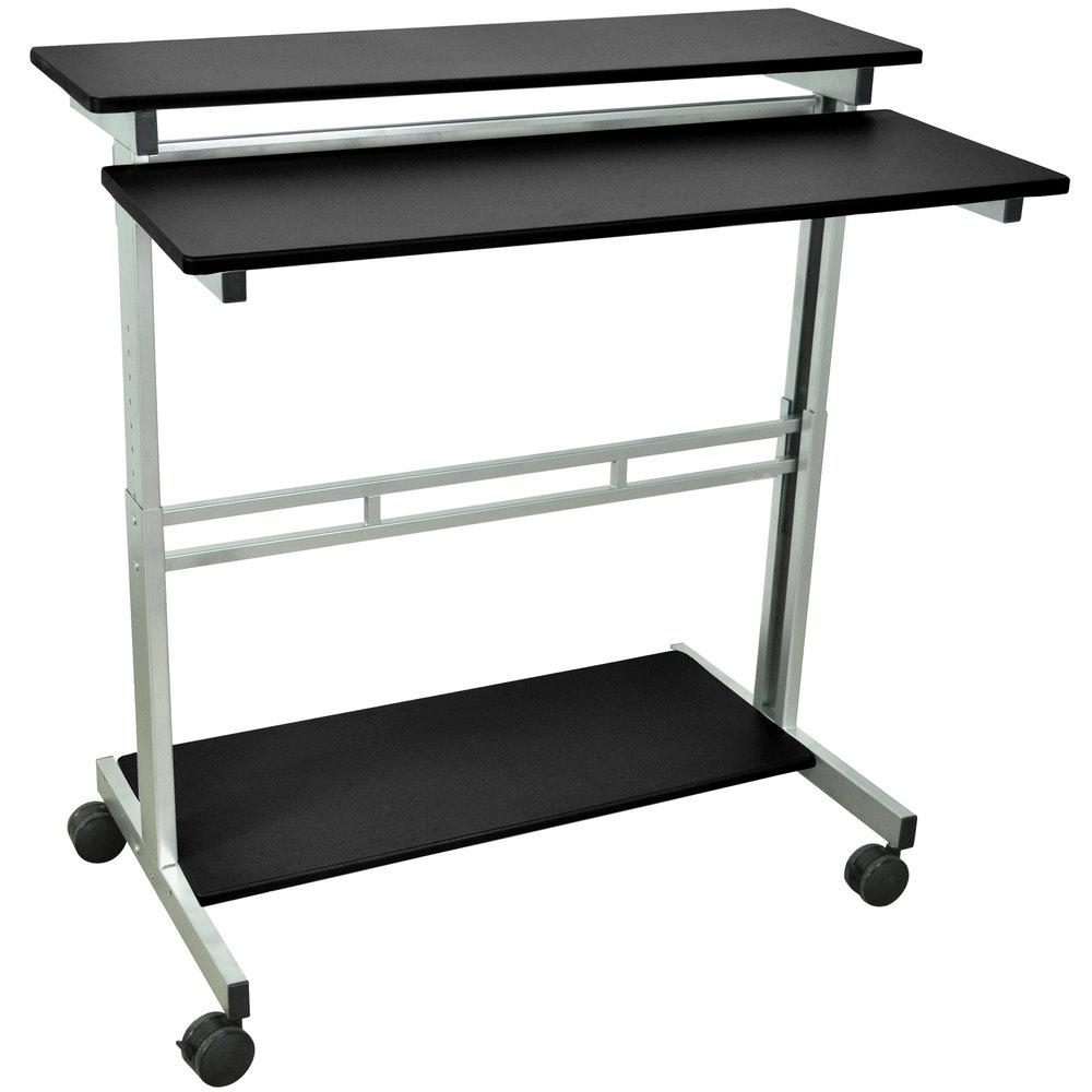 luxor h wilson standup 40 b stand up desk 40. Black Bedroom Furniture Sets. Home Design Ideas