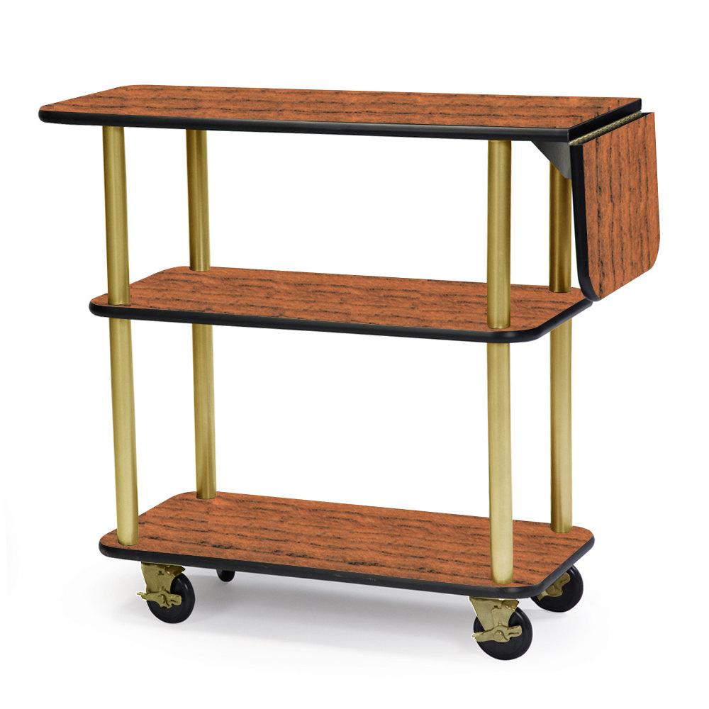 Geneva 36102 Rectangular 3 Shelf Laminate Tableside