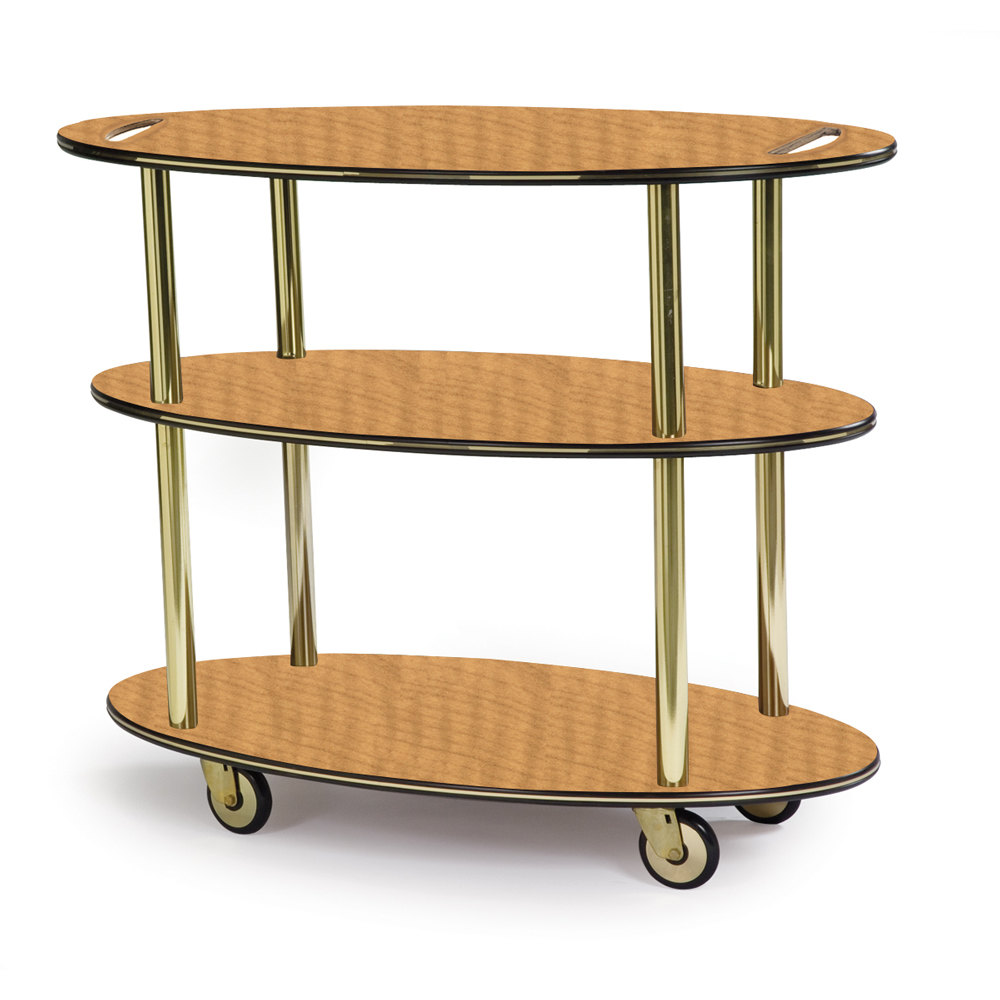 Cart Side Table Side Service Cart