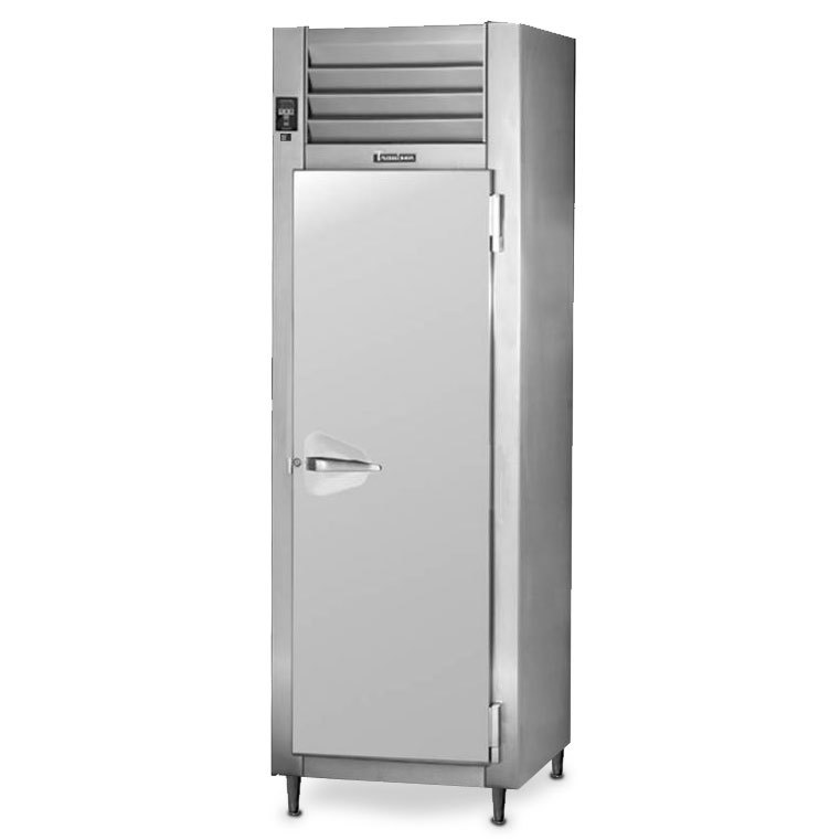 Traulsen RHT126WPUT-FHS Stainless Steel 20.4 Cu. Ft. One Section Solid Door Shallow Depth Pass-Through Refrigerator - Specification Line