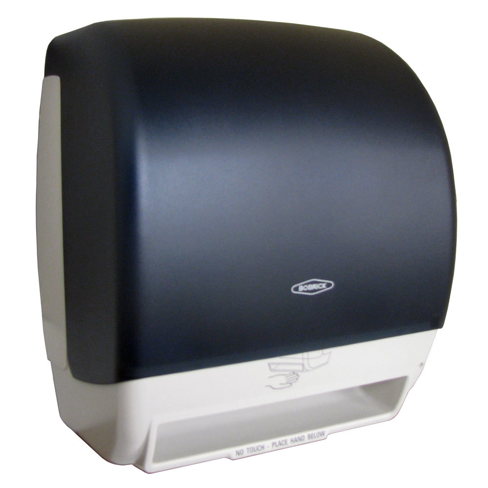 Commercial Touchless Paper Towel Dispenser ~ Bobrick b surface mounted touch free paper towel