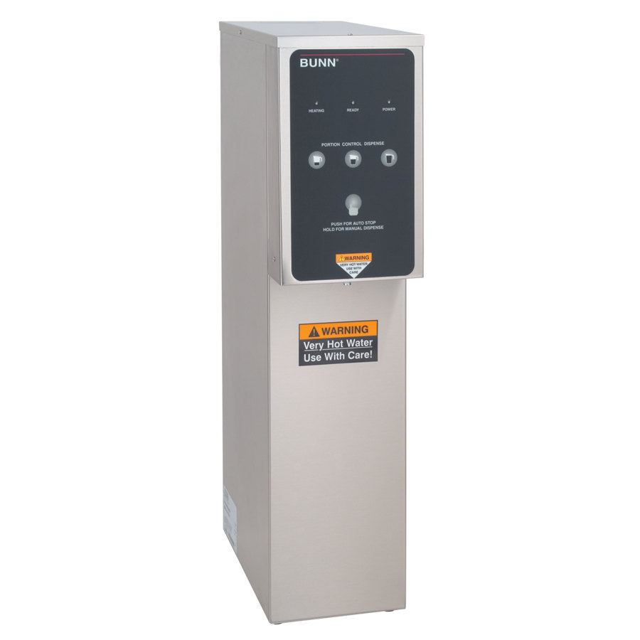 Dual Coffee Maker Hot Water Dispenser : Bunn 39100.0000 H5E-DV PC 5 Gallon Hot Water Dispenser 200 Degrees Fahrenheit - Dual Voltage