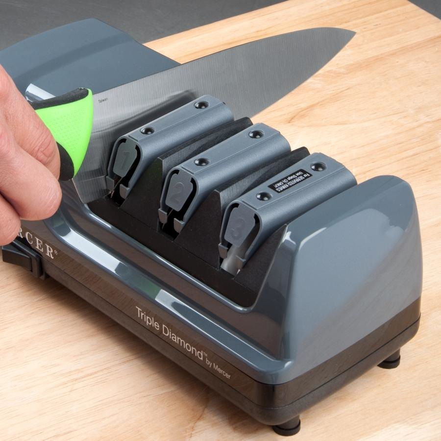 Mercer M10000 Triple Diamond 3 Stage Professional Electric Knife Sharpener