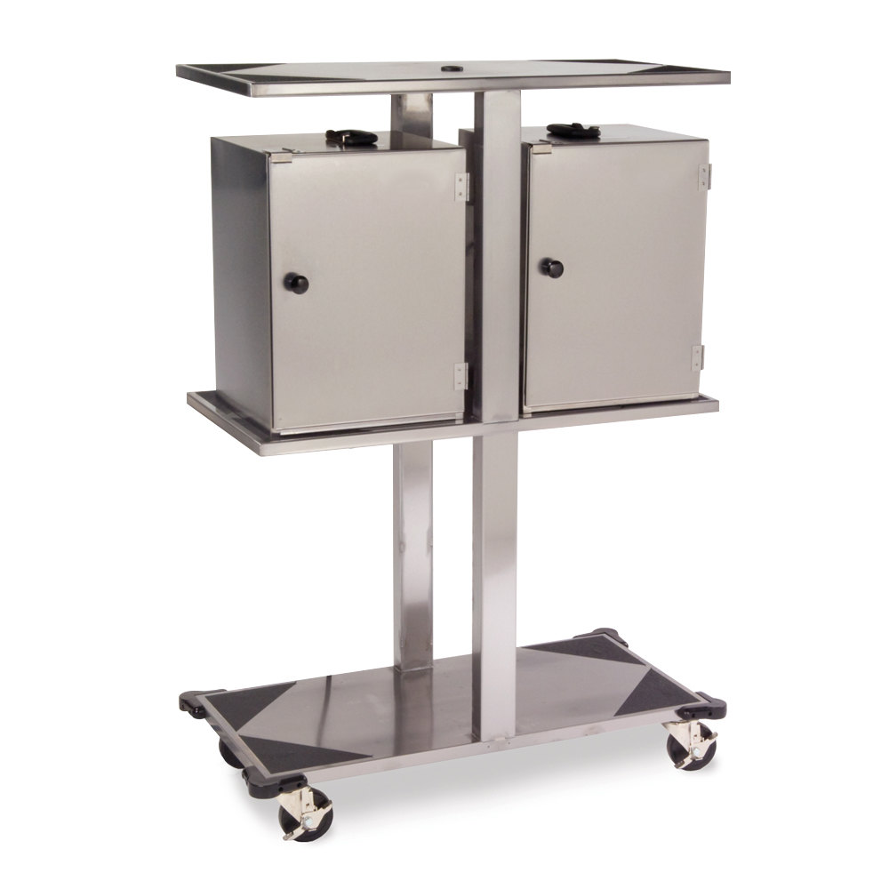 Lakeside 693 Stainless Steel Food Carrier Box Storage Rack - Solid Fuel