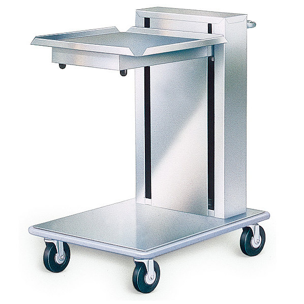 Lakeside 820 Stainless Steel Mobile Cantilever Tray