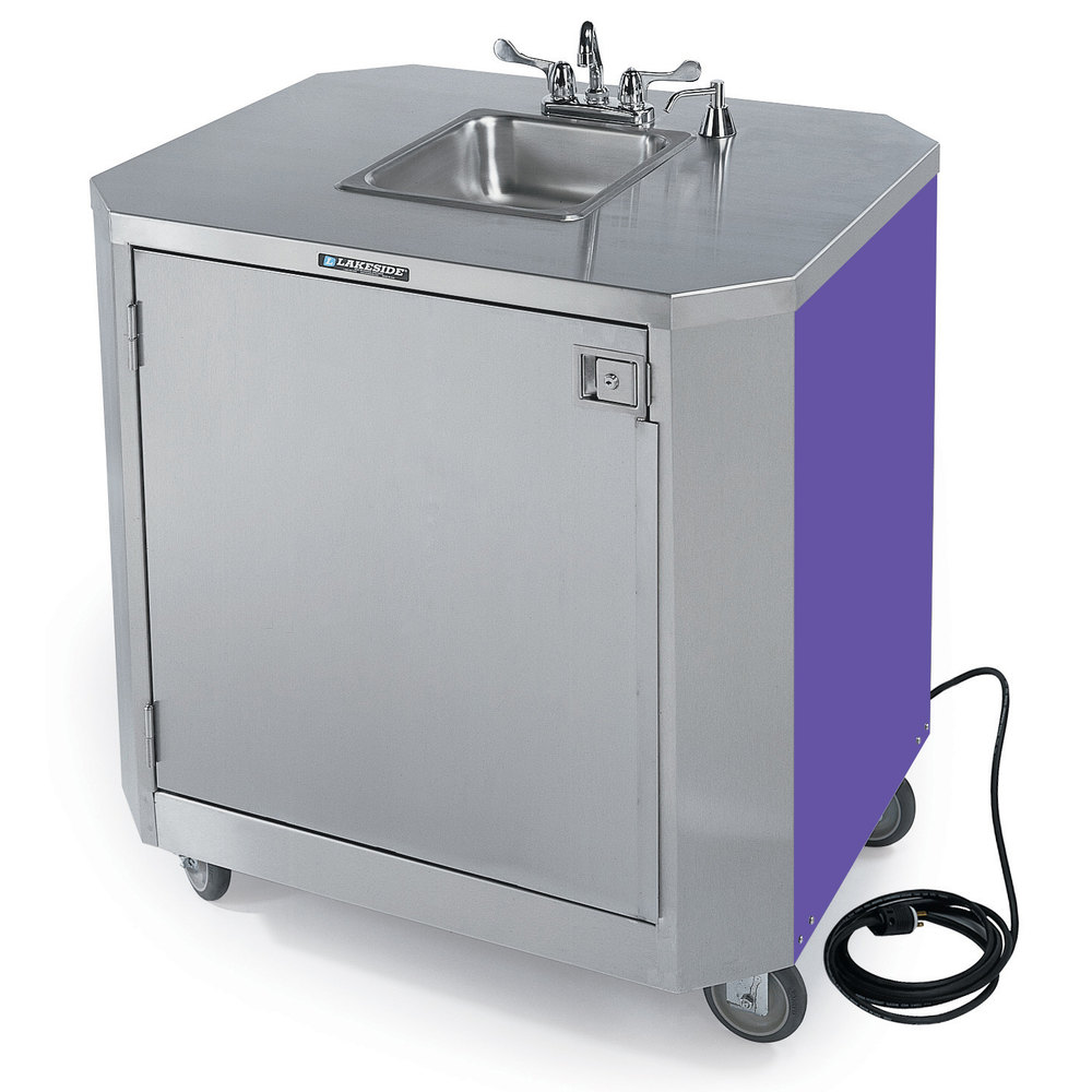 Portable Sink With Faucet And Hot Water Heater With Pump 34