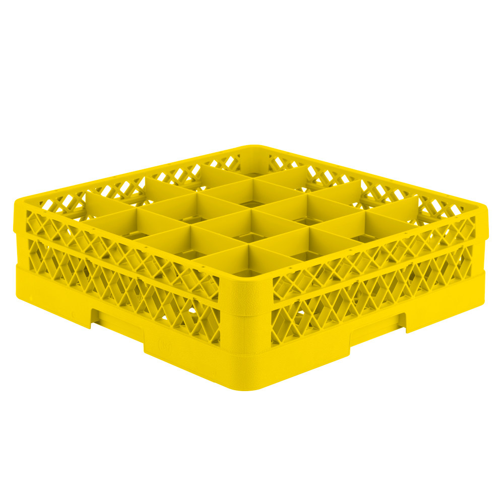 Vollrath Tr8d Traex Full Size Yellow 16 Compartment 4 13