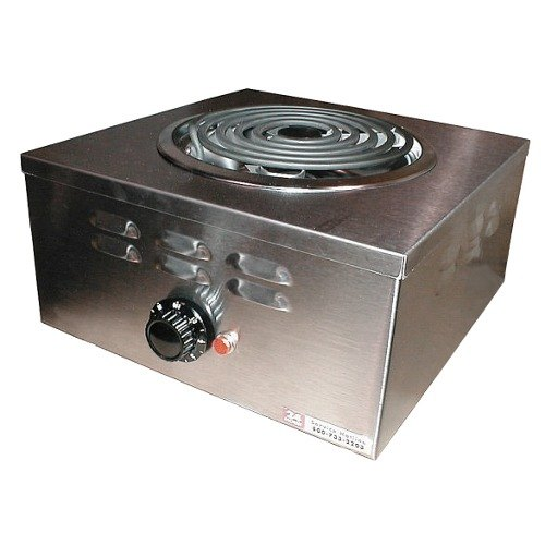 APW Wyott CHP-1A Champion Single Open Burner Portable Electric Hot Plate - 120V, 1650W at Sears.com