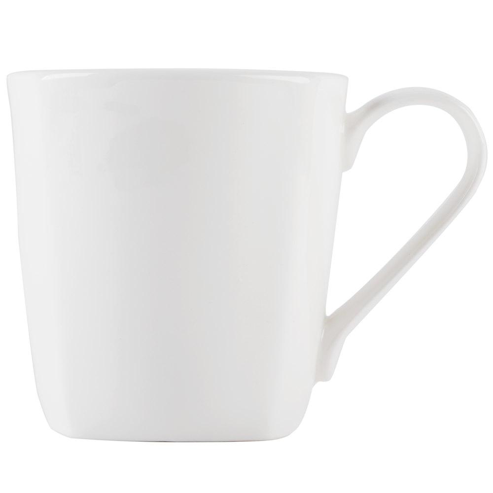 strawberry street dalisq dali  oz white square bone china  -  strawberry street dalisq dali  oz white square bone china mug   case