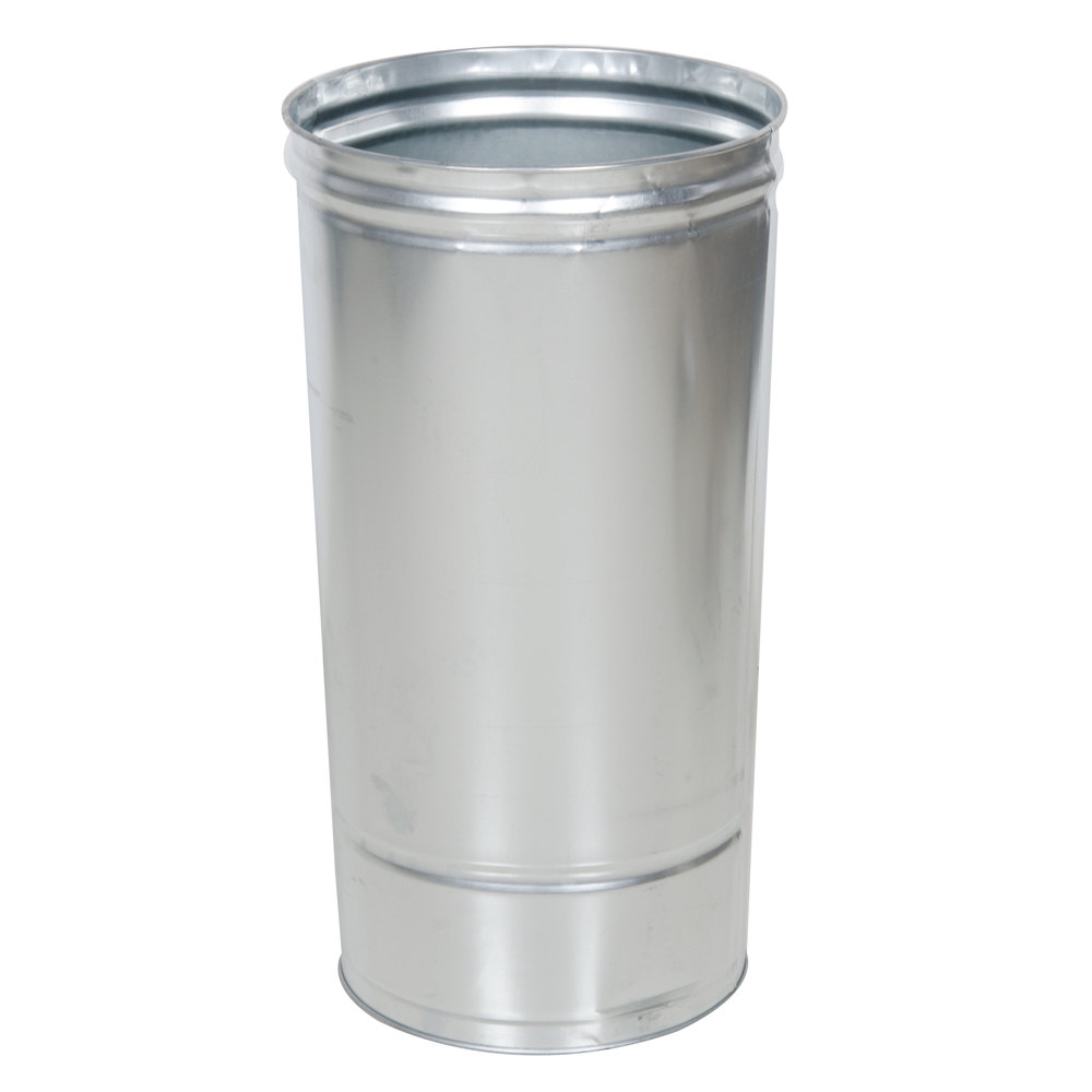 Rubbermaid Fggl1536st Round Galvanized Liner For Fgaou20