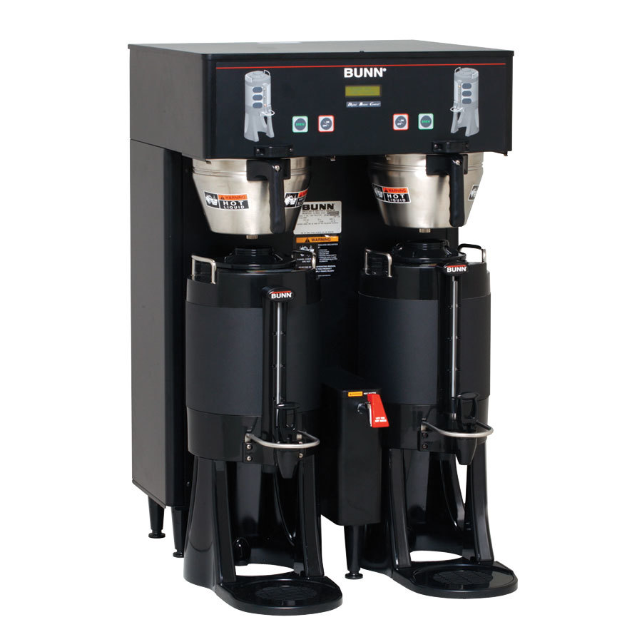 Bunn TF DBC BrewWise ThermoFresh Dual Brewer - Black 120/208V (Bunn 34600.0005)