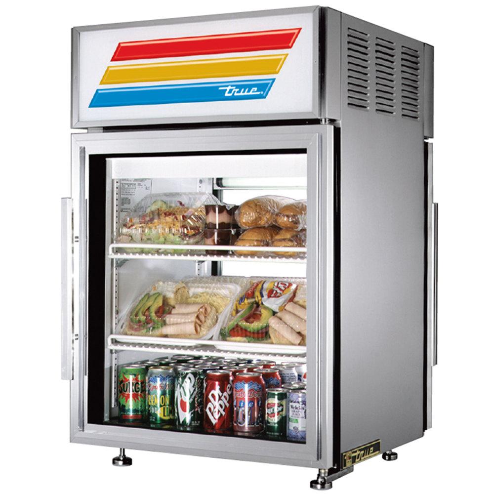 ... -Through Countertop Display Refrigerator with Swing Door - 5 cu. ft