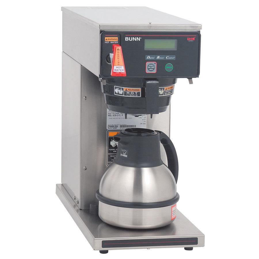 Bunn Axiom-DV-TC Thermal Carafe Coffee Brewer - Dual Voltage (Bunn 38700.0011) at Sears.com
