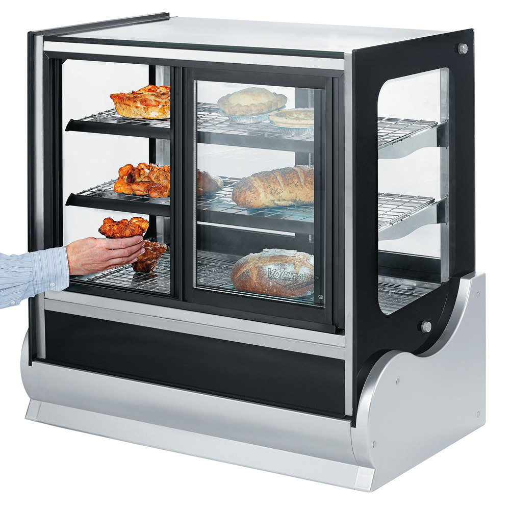 "Vollrath 40892 60"" Cubed Heated Display Cabinet with Front Access"