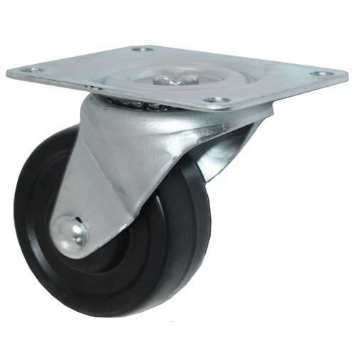 "All Points 26-3332 3"" Swivel Plate Caster - 220 lb. Capacity"