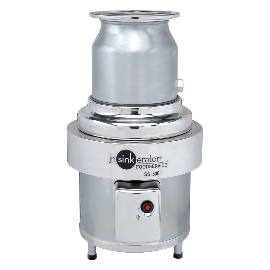 Insinkerator Ss 500 28 Commercial Garbage Disposer 5 Hp 3 Phase Proper Wiring Of Disposal As Well Badger