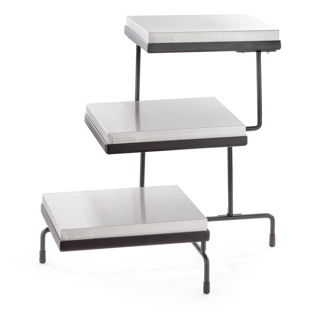 Tablecraft CaterWare CW40309B Three Tiered Display Stand