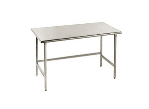 "Advance Tabco 14 Gauge Advance Tabco TSS-247 24"" x 84"" Open Base Stainless Steel Commercial Work Table at Sears.com"