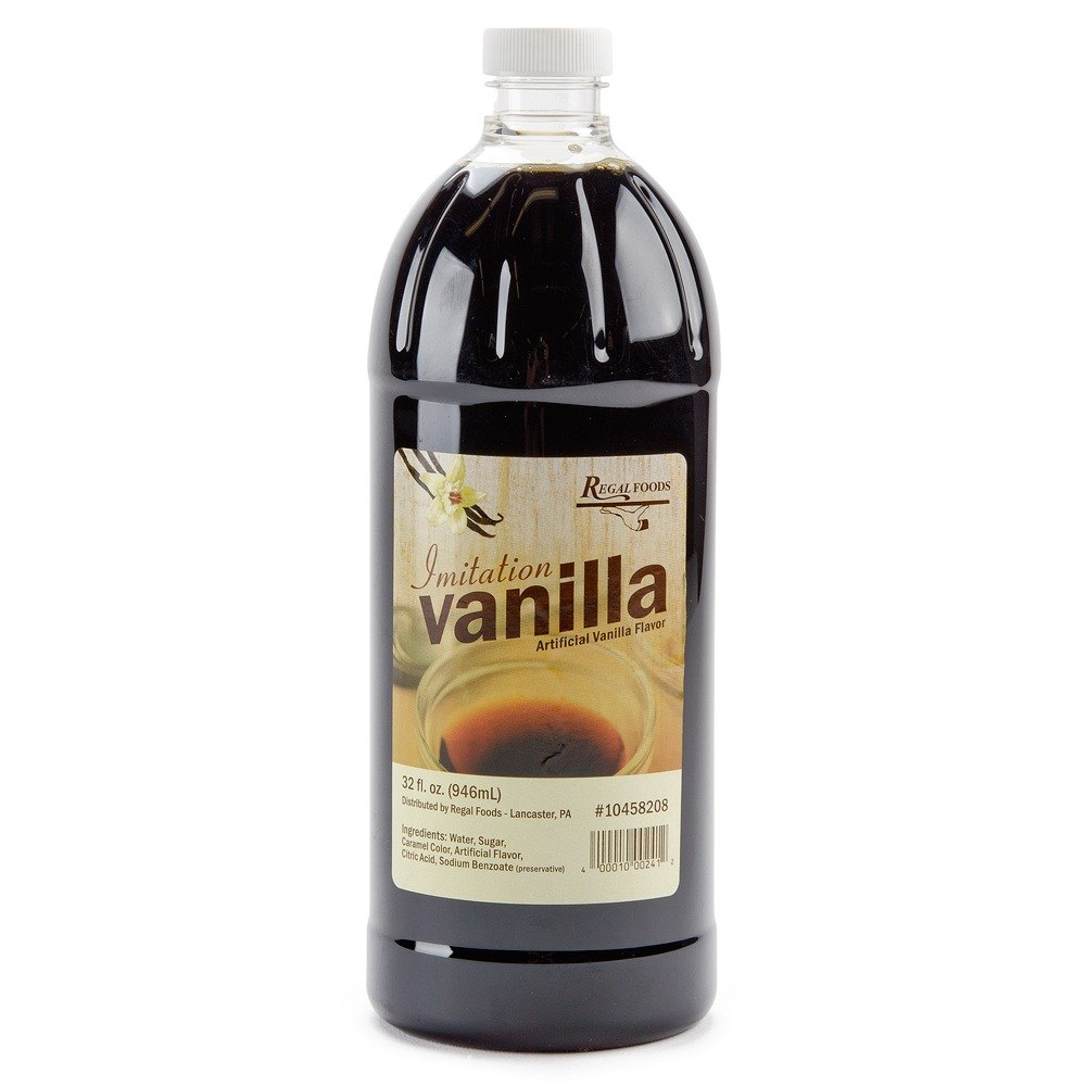 Imitation Vanilla Extract Regal 1x imitation vanilla 32