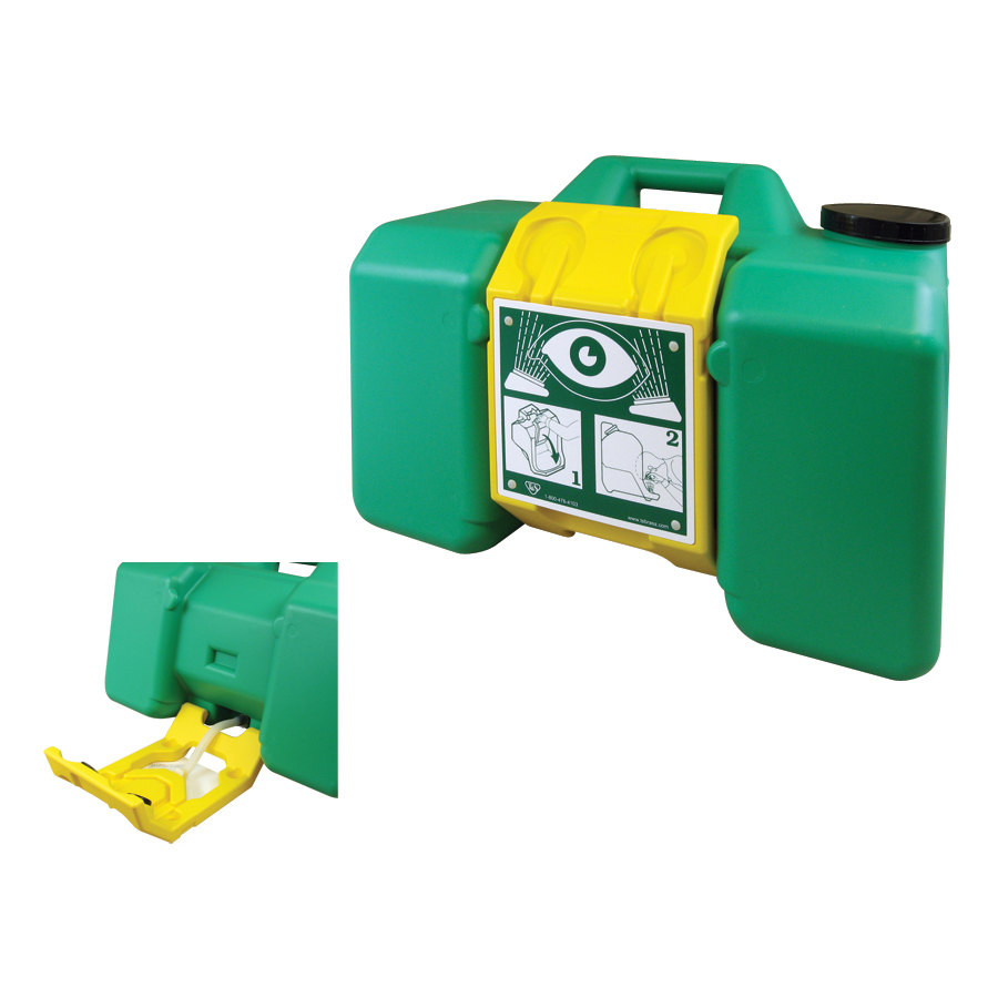 T & S EW-7501 Gravity Fed Portable Eyewash Unit 9 Gallon Capacity