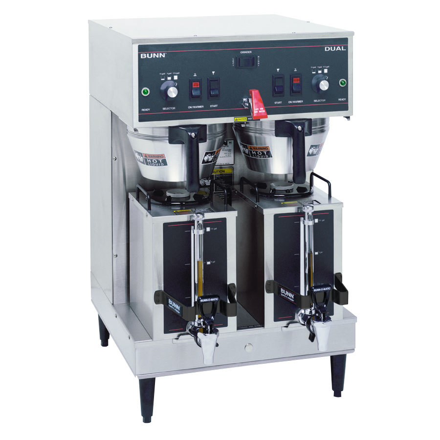 Bunn 20900.0011 Dual Brewer with Portable Servers & 3 Settings - 120/240V, 6890W
