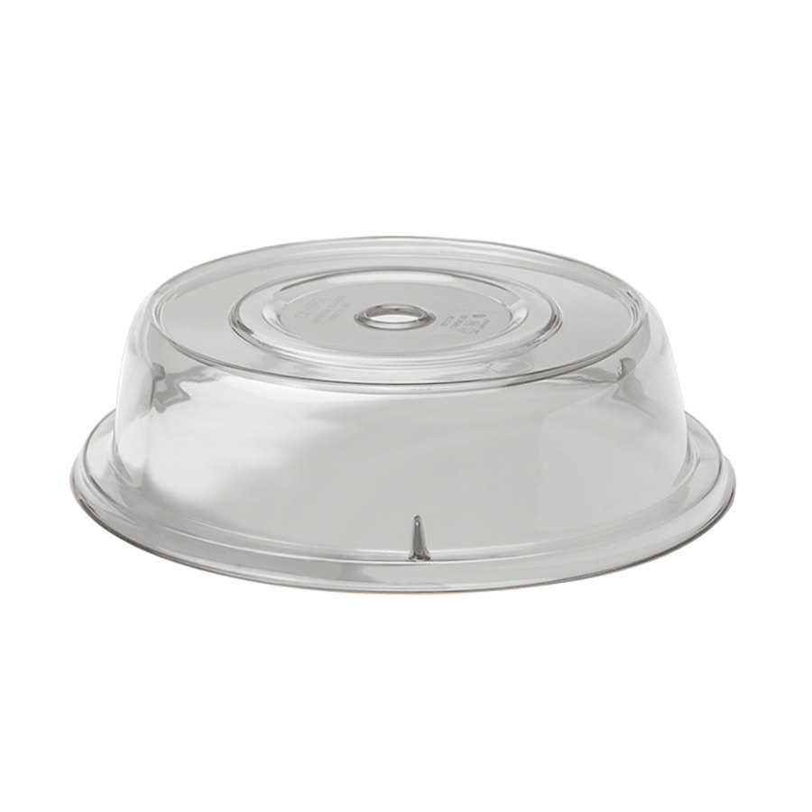 """Plate Cover Cambro 1101Cw152 Camwear 11"""" Clear Camcover Plate Cover  12Case"""