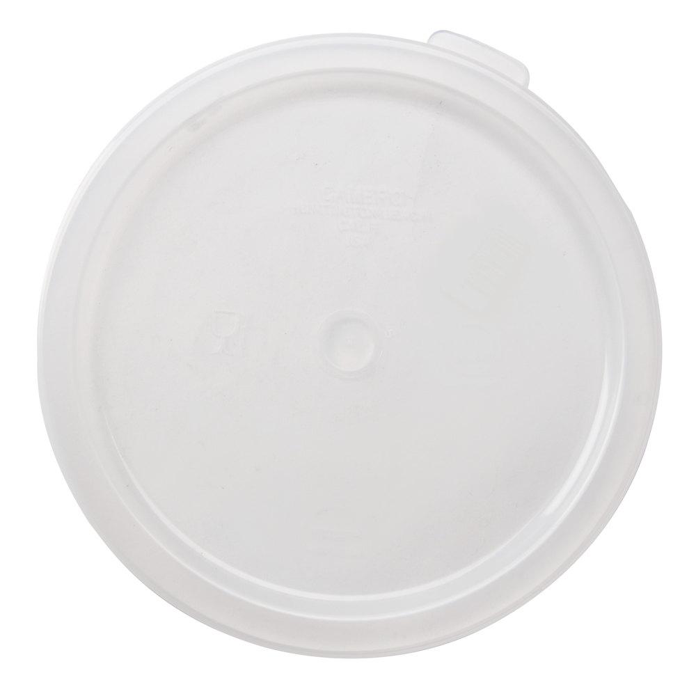 Cambro RFSC6PP-190 Lid for Cambro Translucent 6 and 8 Qt. Round Containers