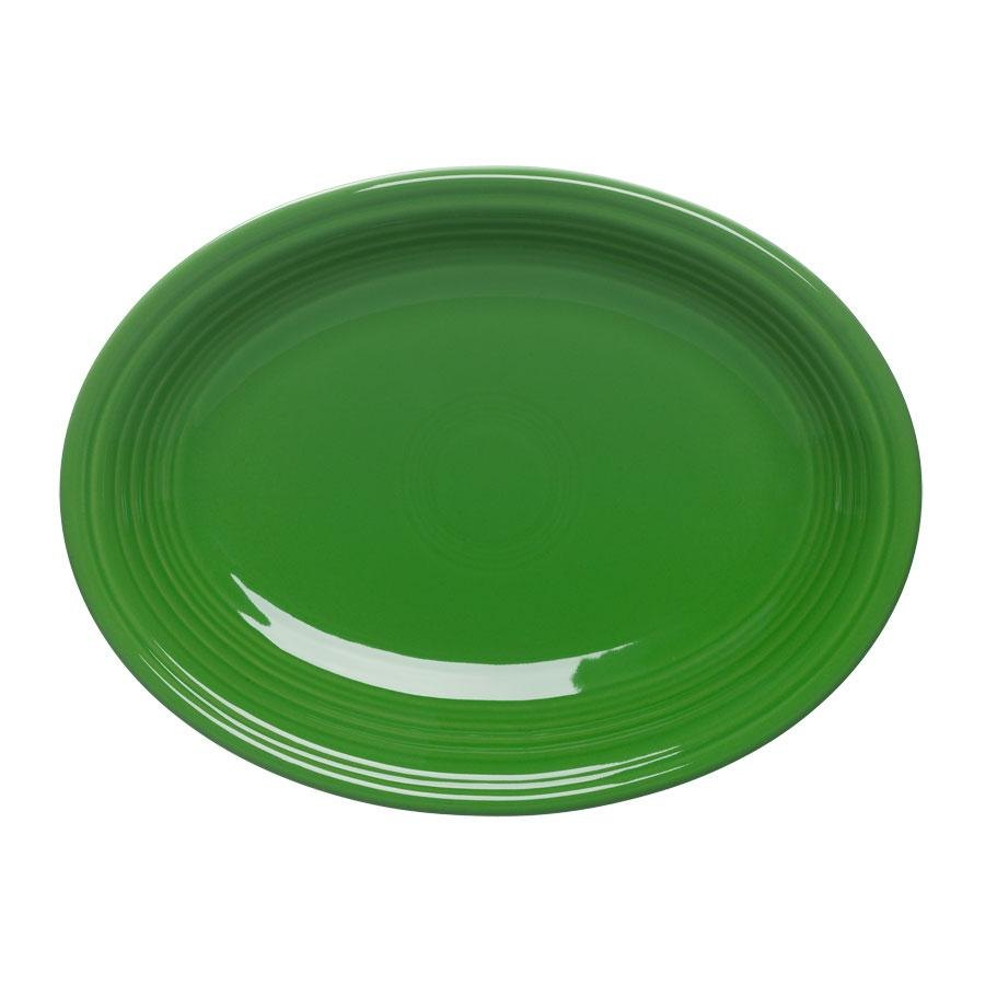 Homer Laughlin 457324 Fiesta Shamrock 11 5/8 inch Platter - 12 / Case