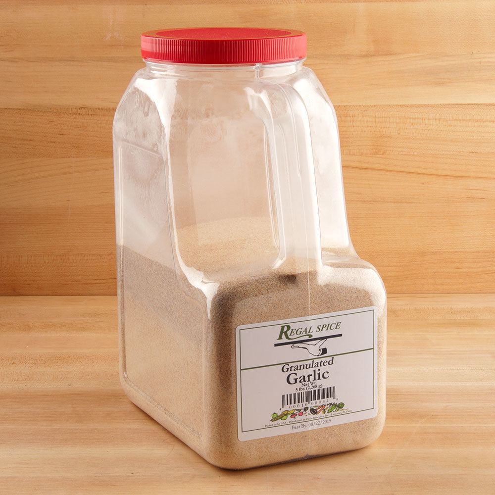 Regal Bulk Granulated Garlic 5 lbs.