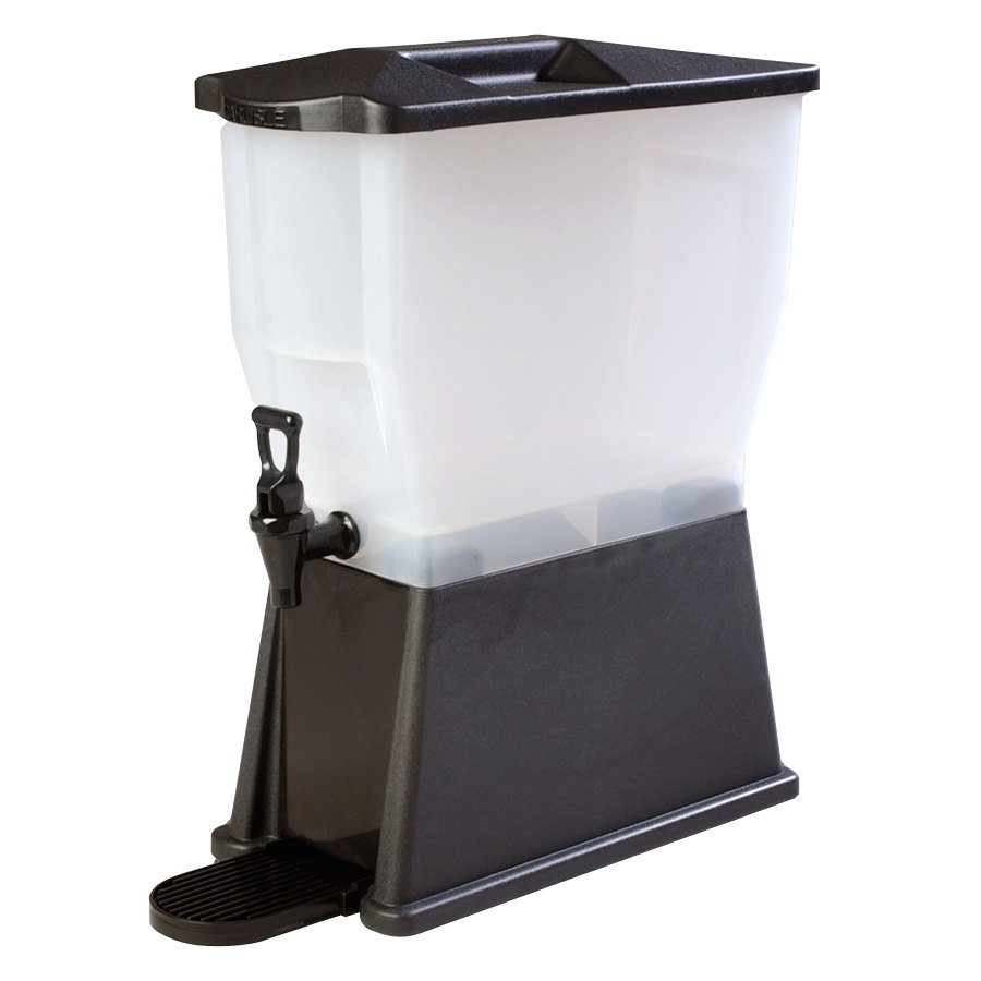 Carlisle 1085403 Black TrimLine 3 Gallon Premium Beverage Dispenser